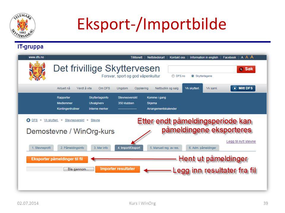 Eksport-/Importbilde