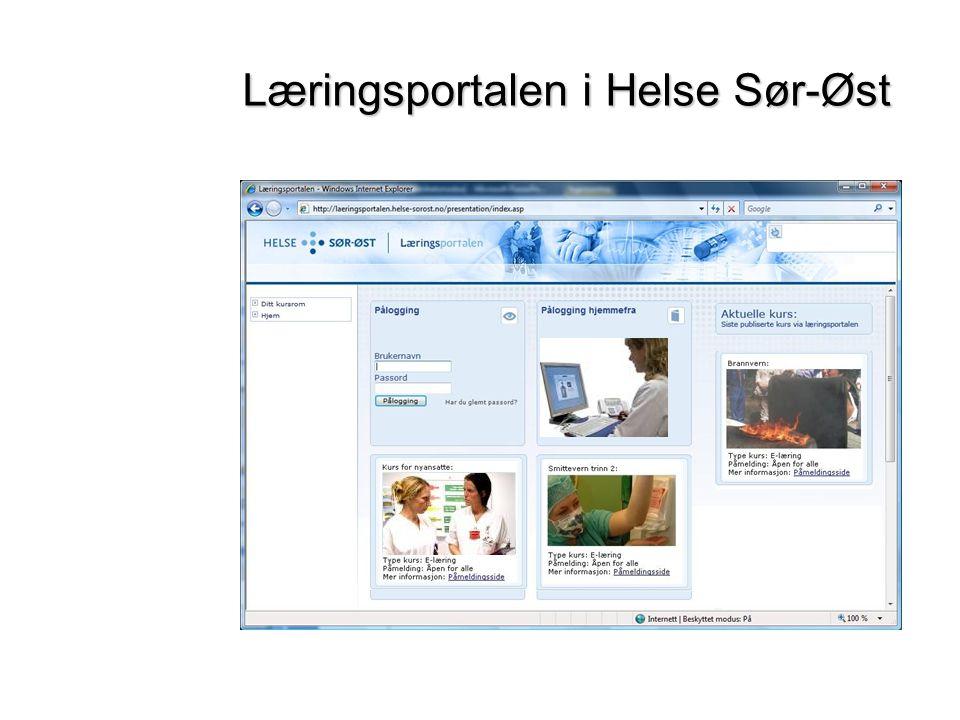 Læringsportalen i Helse Sør-Øst