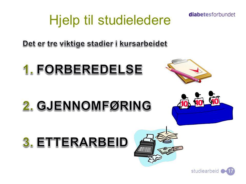 Hjelp til studieledere