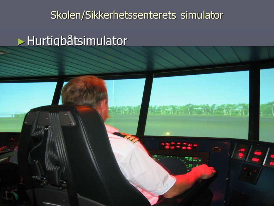 Skolen/Sikkerhetssenterets simulator