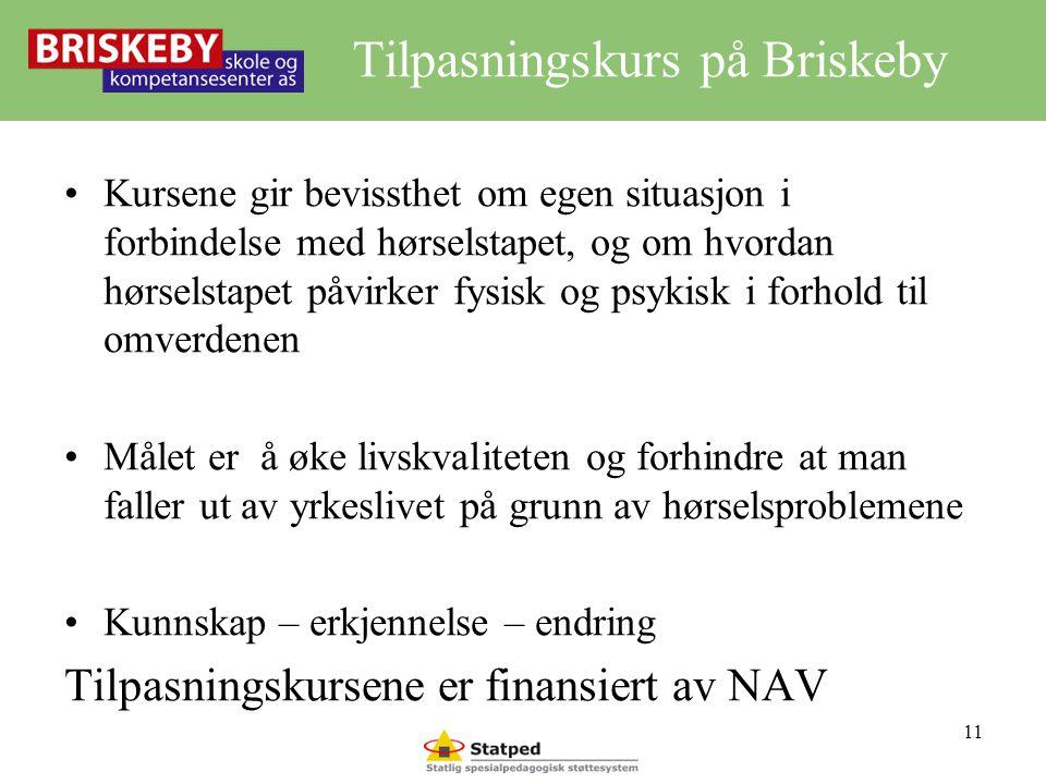 Tilpasningskurs på Briskeby