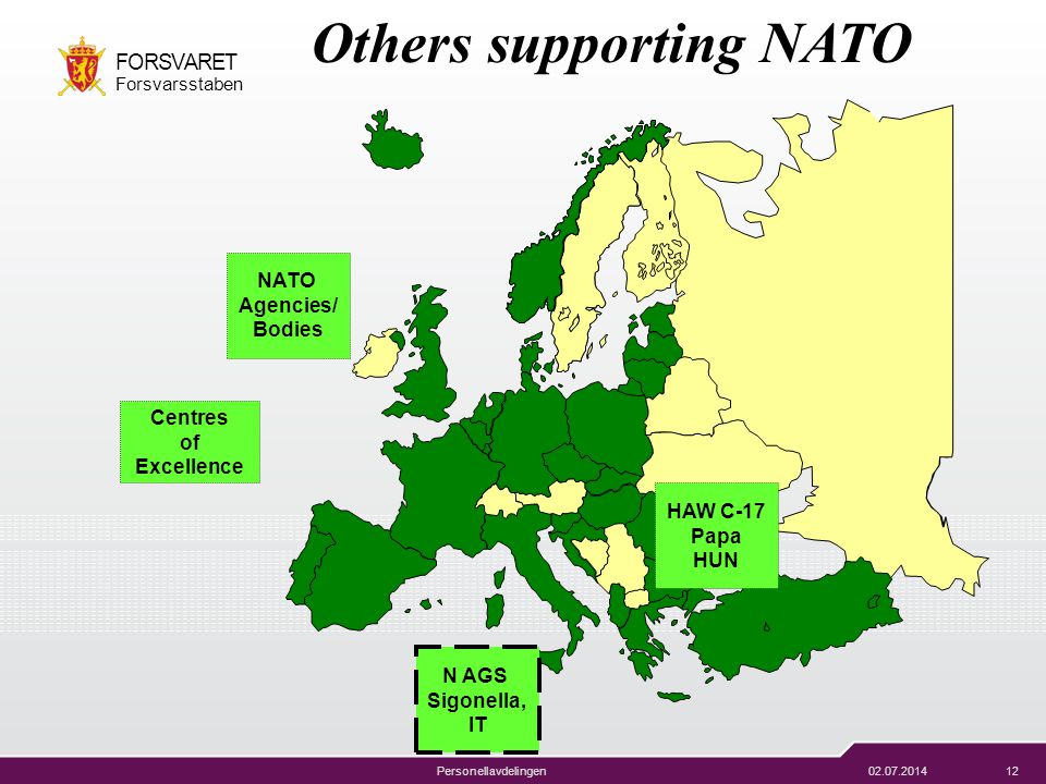 Others supporting NATO