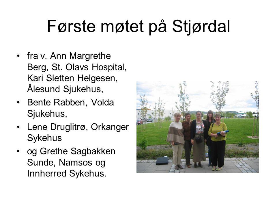 Første møtet på Stjørdal