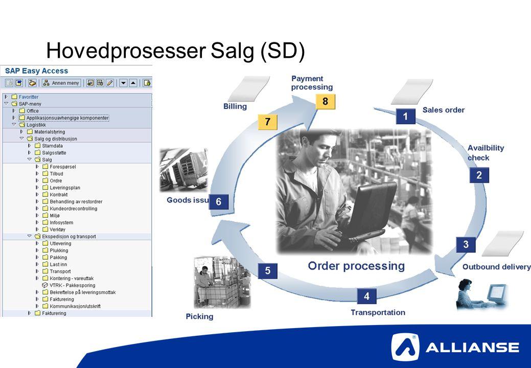 Hovedprosesser Salg (SD)