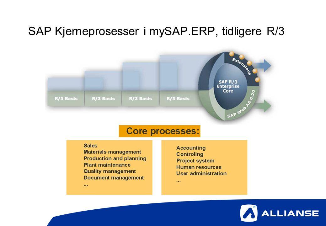 SAP Kjerneprosesser i mySAP.ERP, tidligere R/3