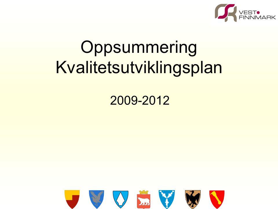 Oppsummering Kvalitetsutviklingsplan