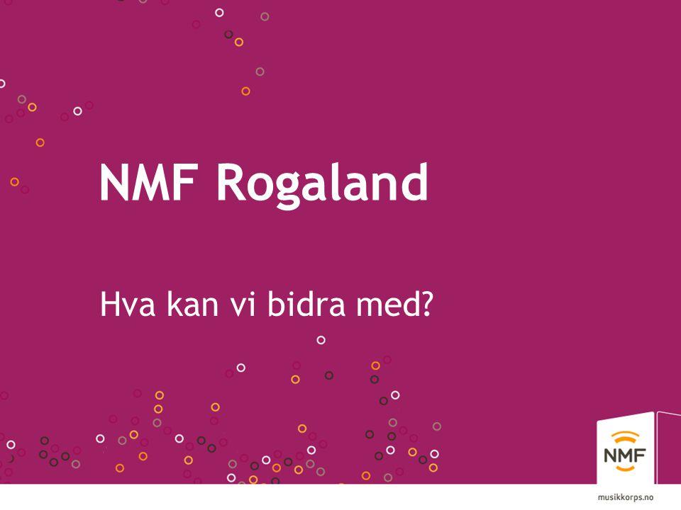 NMF Rogaland Hva kan vi bidra med