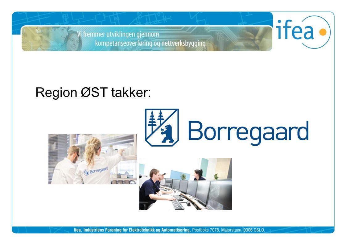 Region ØST takker: