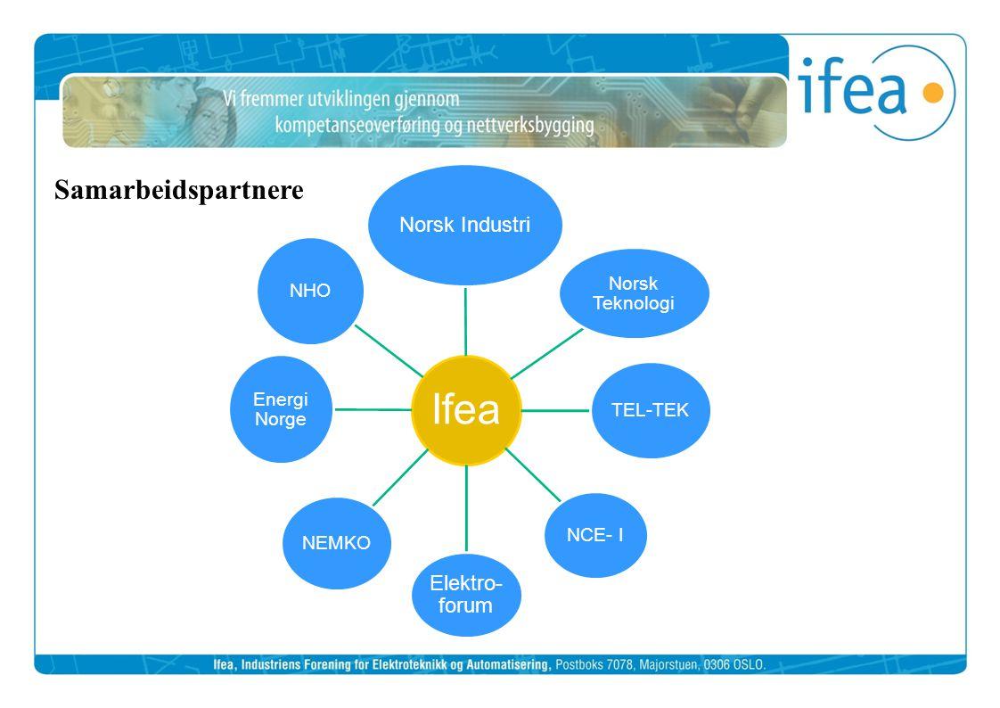 Samarbeidspartnere Norsk Industri Elektro-forum Norsk Teknologi