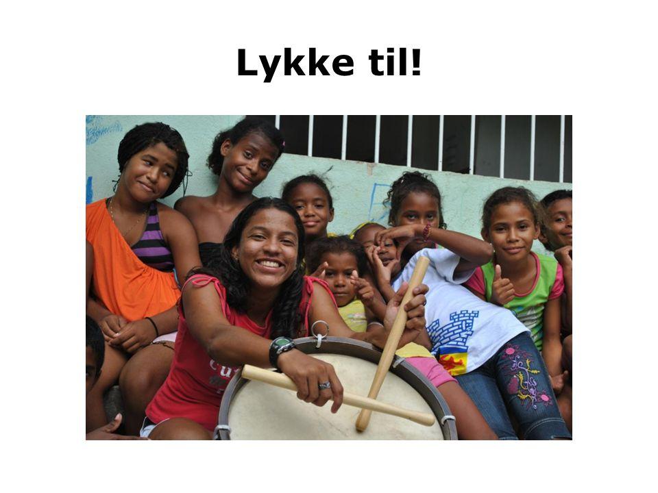 Lykke til! Brasiliansk storbyungdom drømmer om en mer rettferdig hverdag. Kirkens Nødhjelp ønsker å støtte ungdommene i denne kampen.