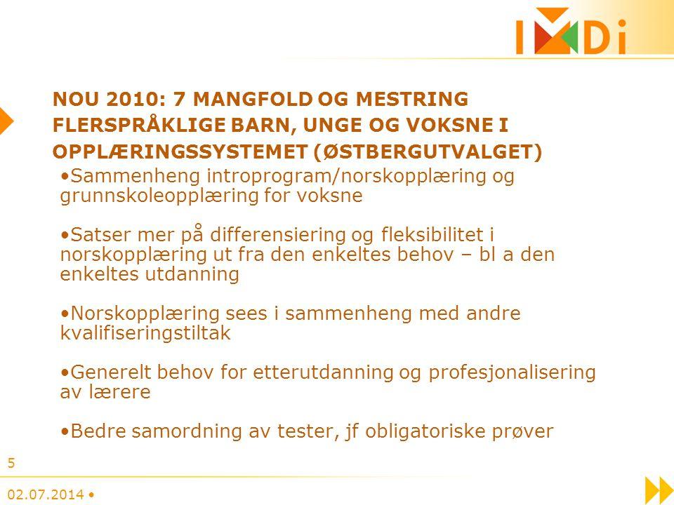 Norskopplæring sees i sammenheng med andre kvalifiseringstiltak