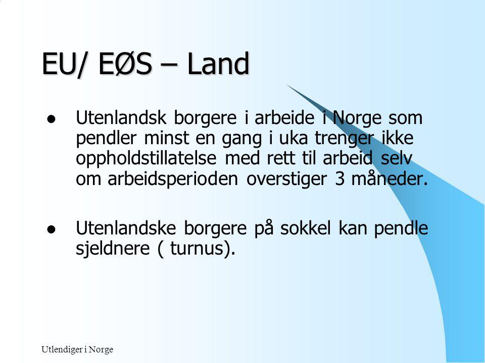 EU/ EØS – Land