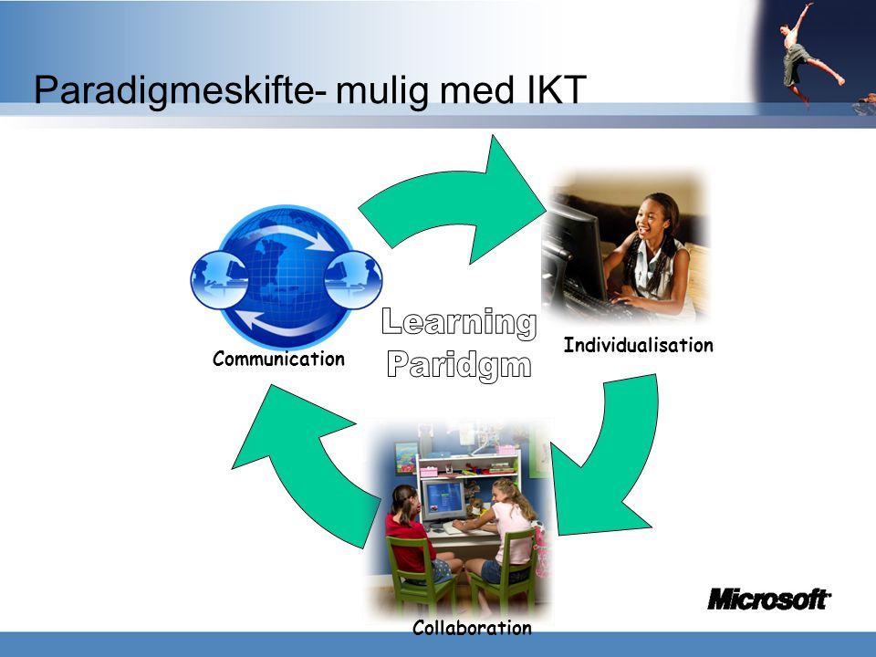 Paradigmeskifte- mulig med IKT
