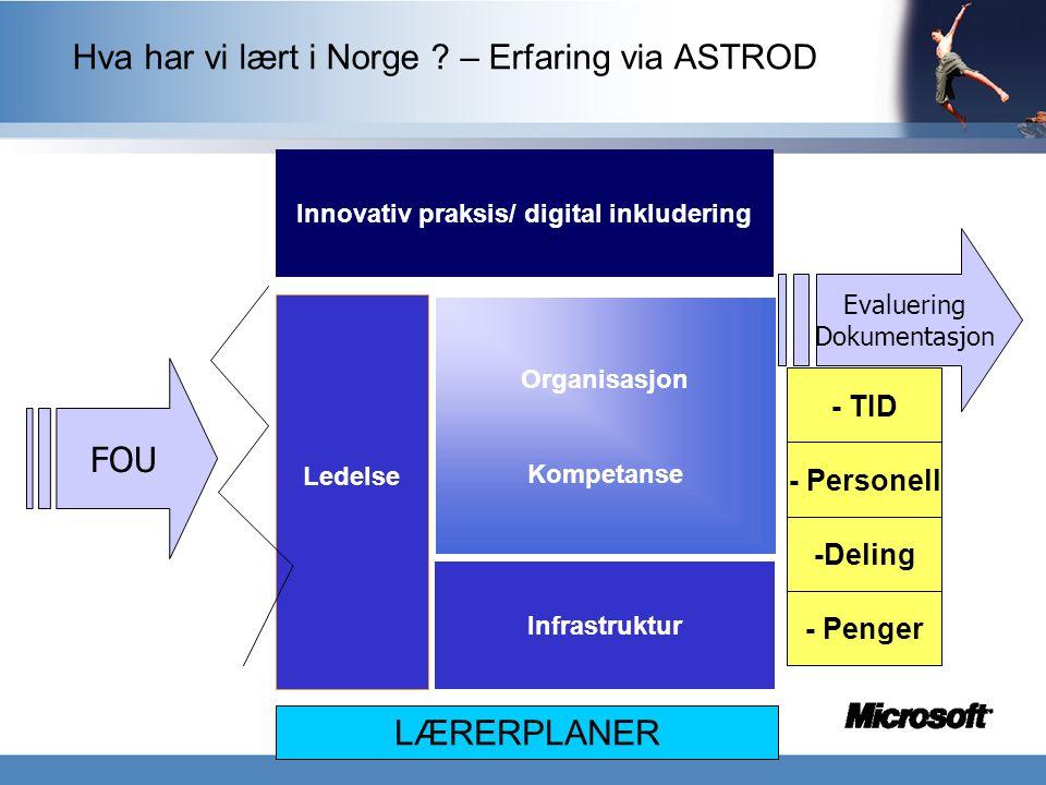 Innovativ praksis/ digital inkludering