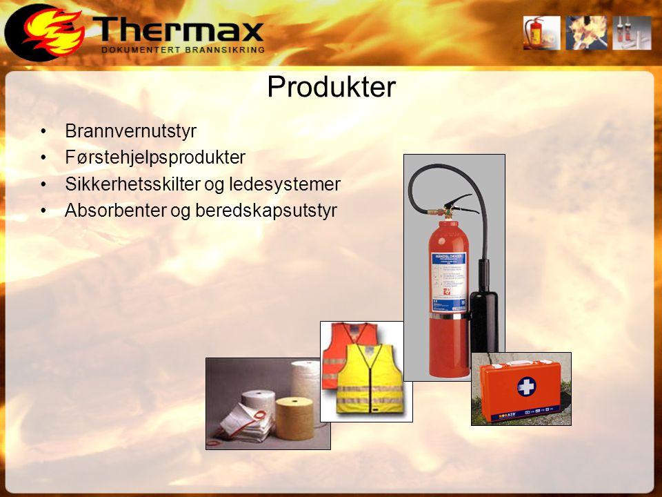 Produkter Brannvernutstyr Førstehjelpsprodukter
