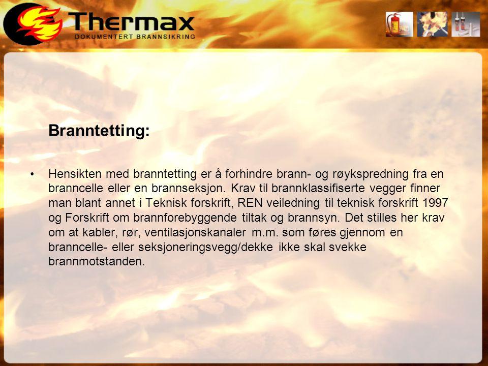 Branntetting: