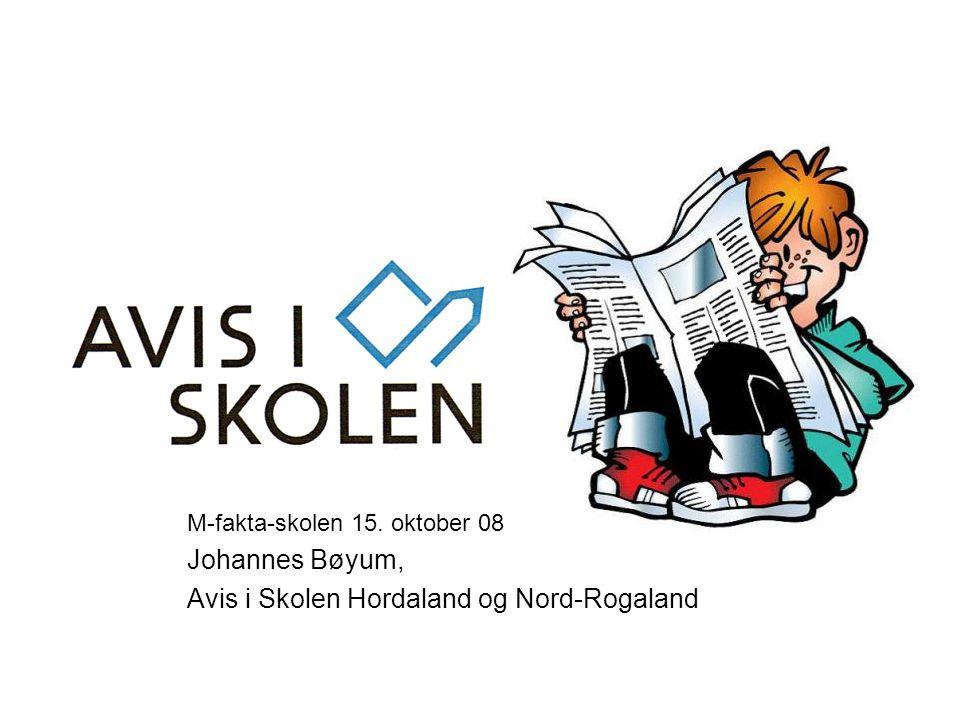 Avis i Skolen Hordaland og Nord-Rogaland