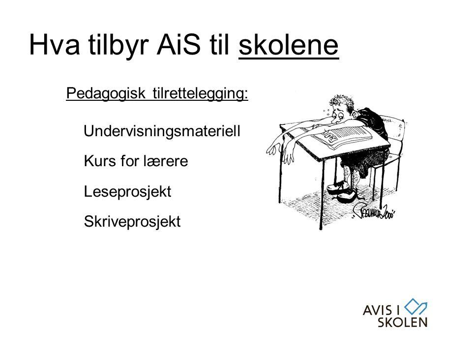 Hva tilbyr AiS til skolene
