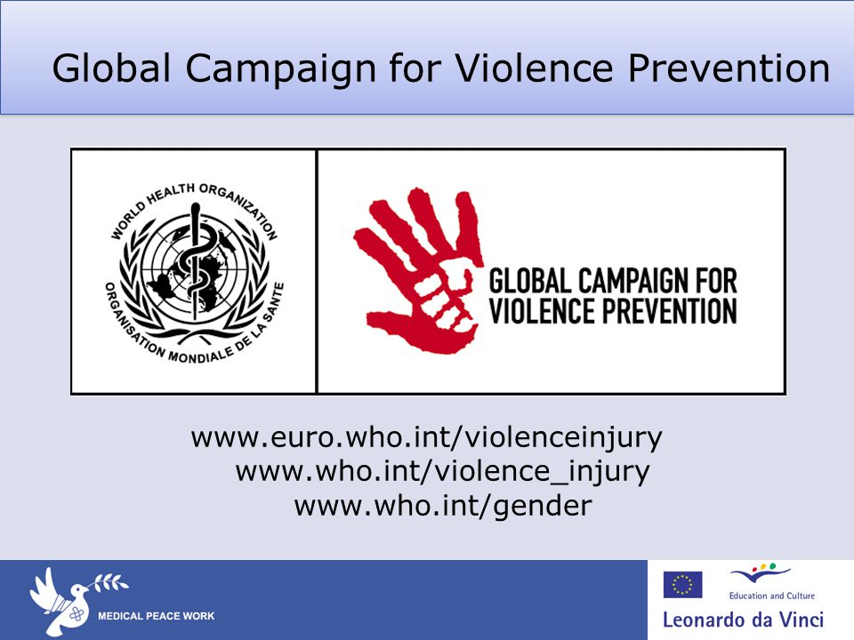 Global Campaign for Violence Prevention
