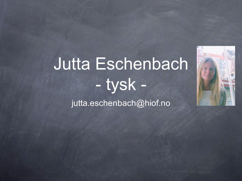 Jutta Eschenbach - tysk -