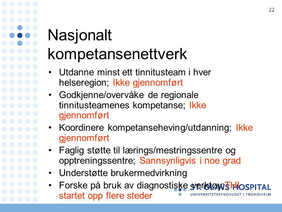 Nasjonalt kompetansenettverk