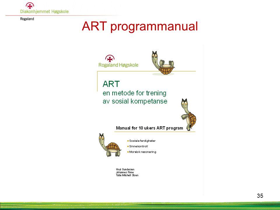 ART programmanual