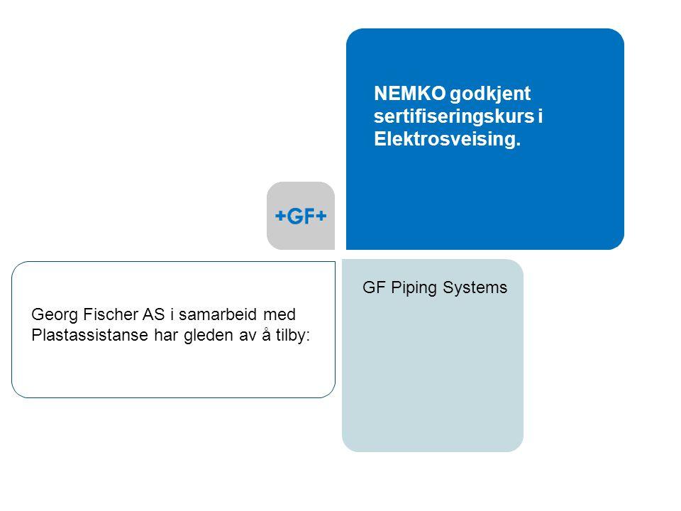 NEMKO godkjent sertifiseringskurs i Elektrosveising.
