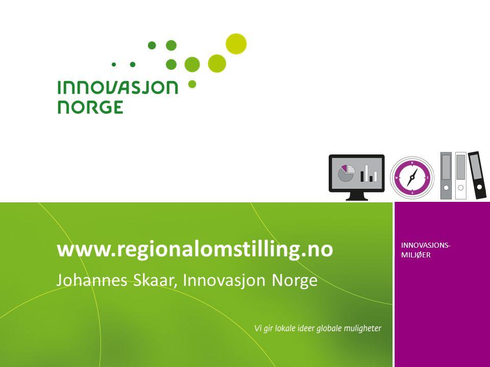 Johannes Skaar, Innovasjon Norge