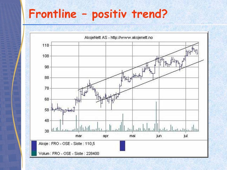 Frontline – positiv trend