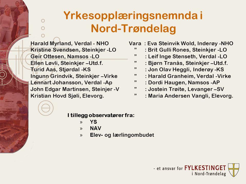 Yrkesopplæringsnemnda i Nord-Trøndelag
