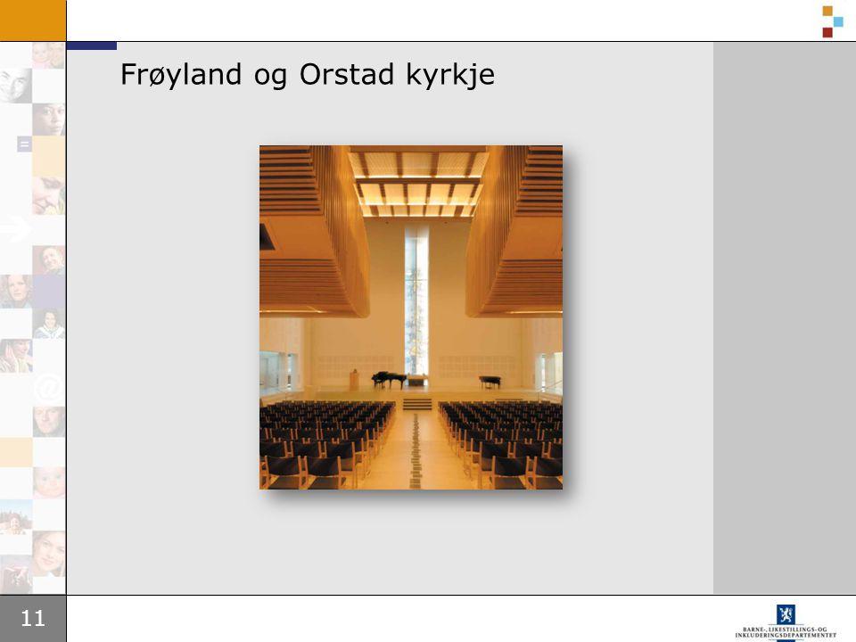 Frøyland og Orstad kyrkje