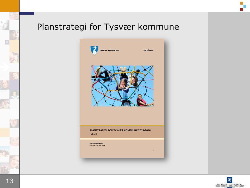 Planstrategi for Tysvær kommune
