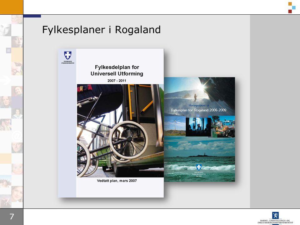 Fylkesplaner i Rogaland
