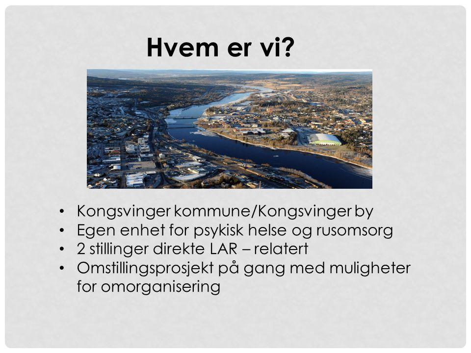 Hvem er vi Kongsvinger kommune/Kongsvinger by