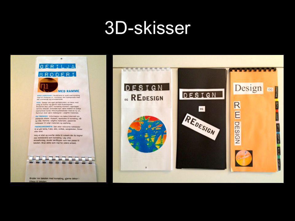3D-skisser