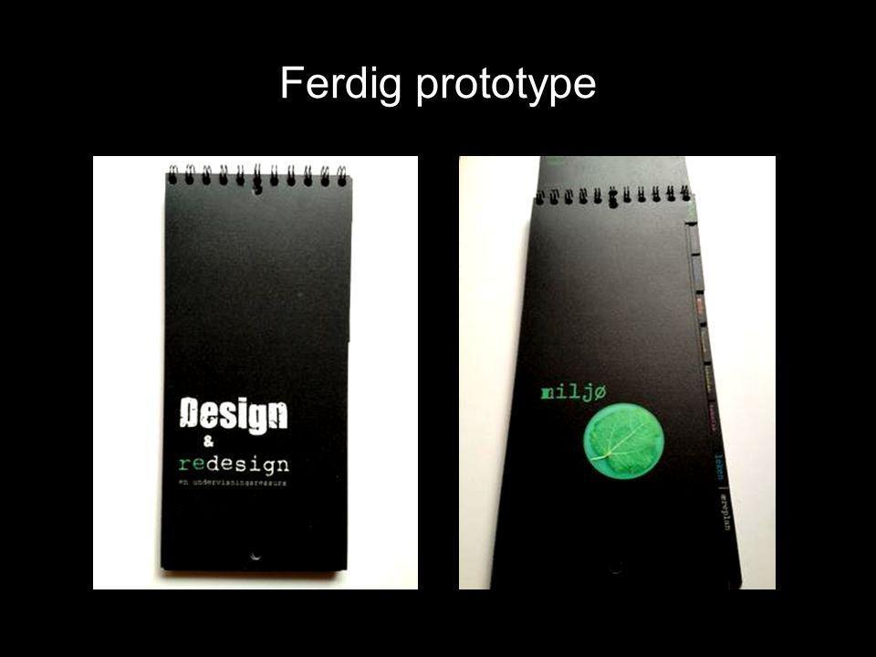 Ferdig prototype