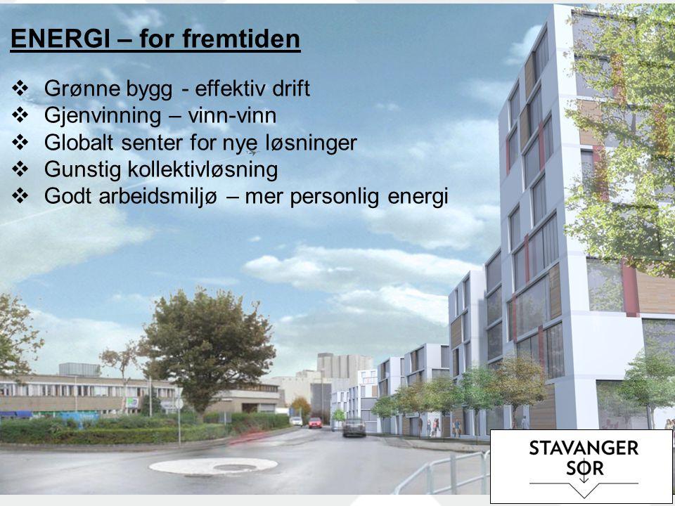ENERGI – for fremtiden Grønne bygg - effektiv drift