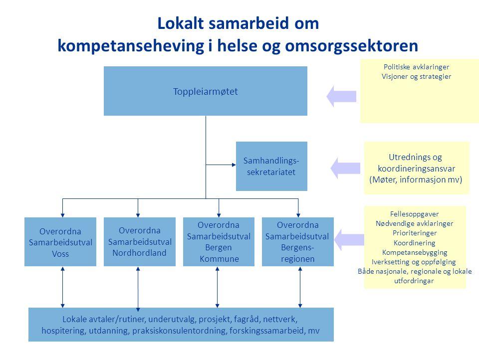 kompetanseheving i helse og omsorgssektoren