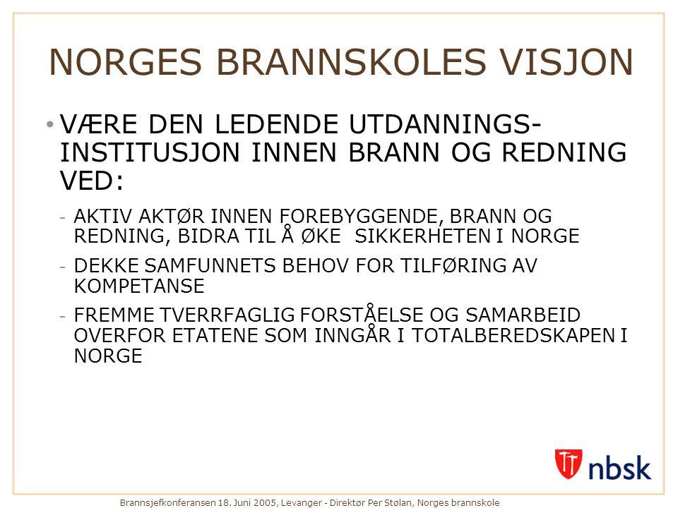 NORGES BRANNSKOLES VISJON