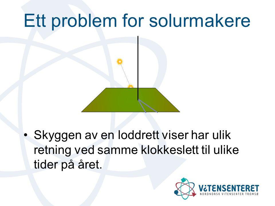 Ett problem for solurmakere