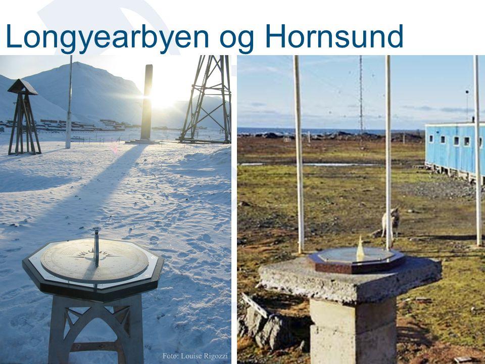Longyearbyen og Hornsund