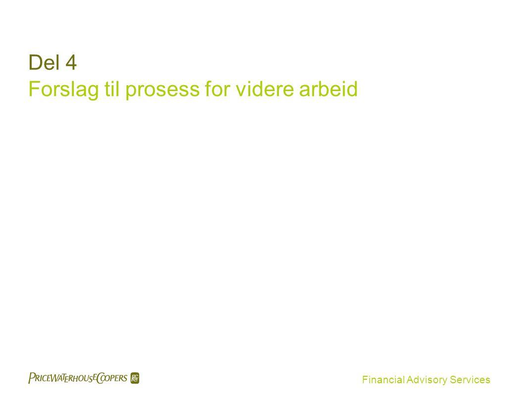Forslag til prosess for videre arbeid