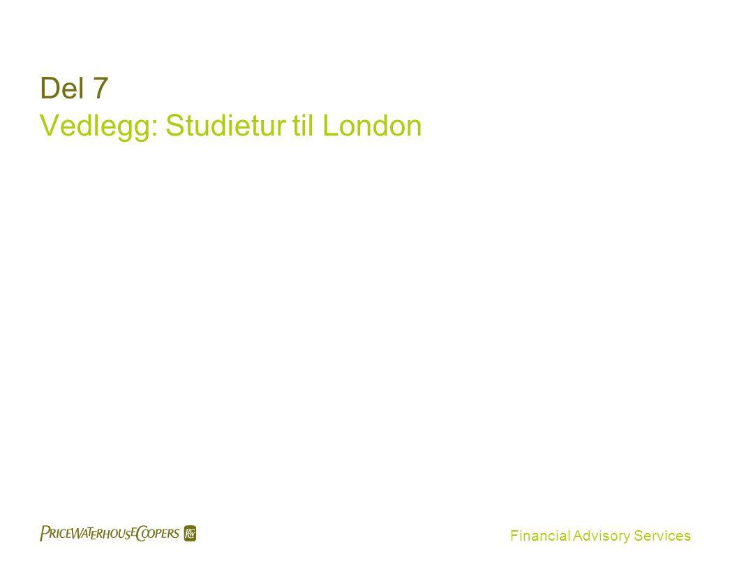 Vedlegg: Studietur til London