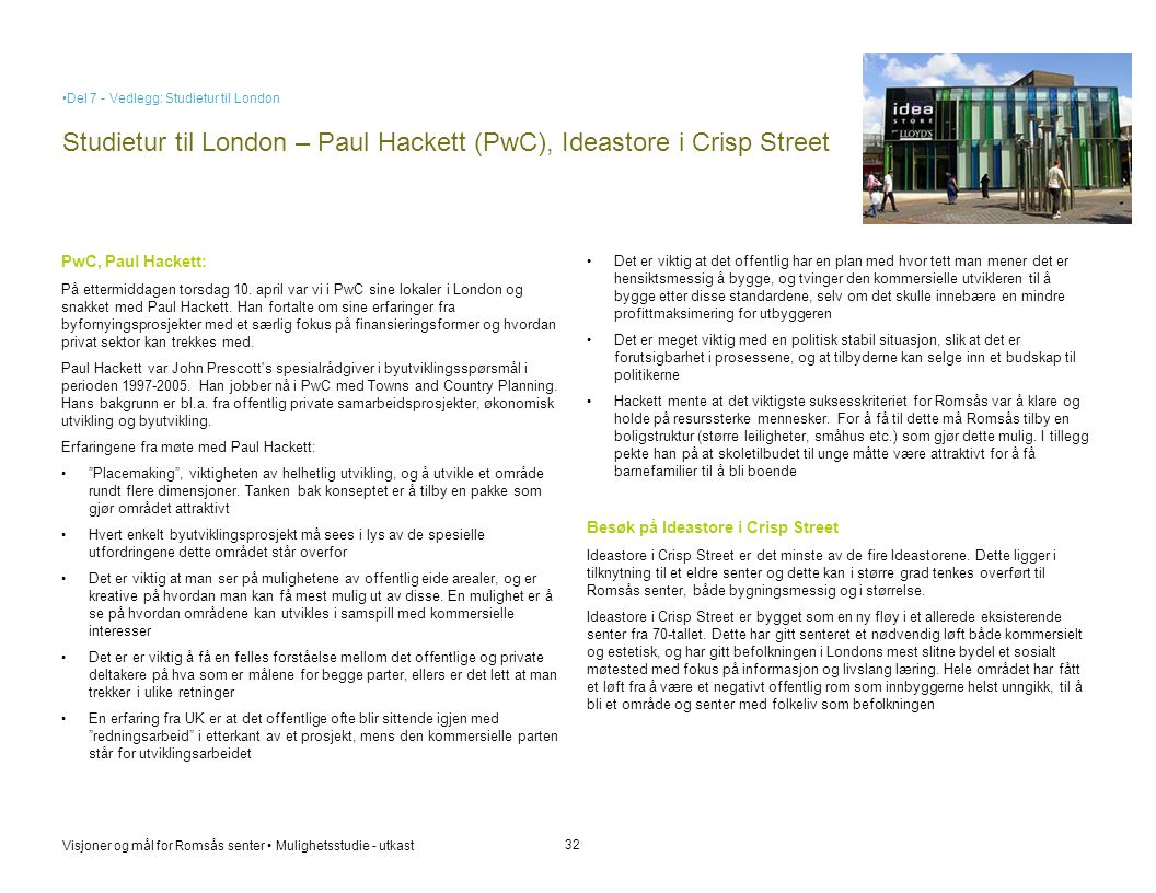 Studietur til London – Paul Hackett (PwC), Ideastore i Crisp Street