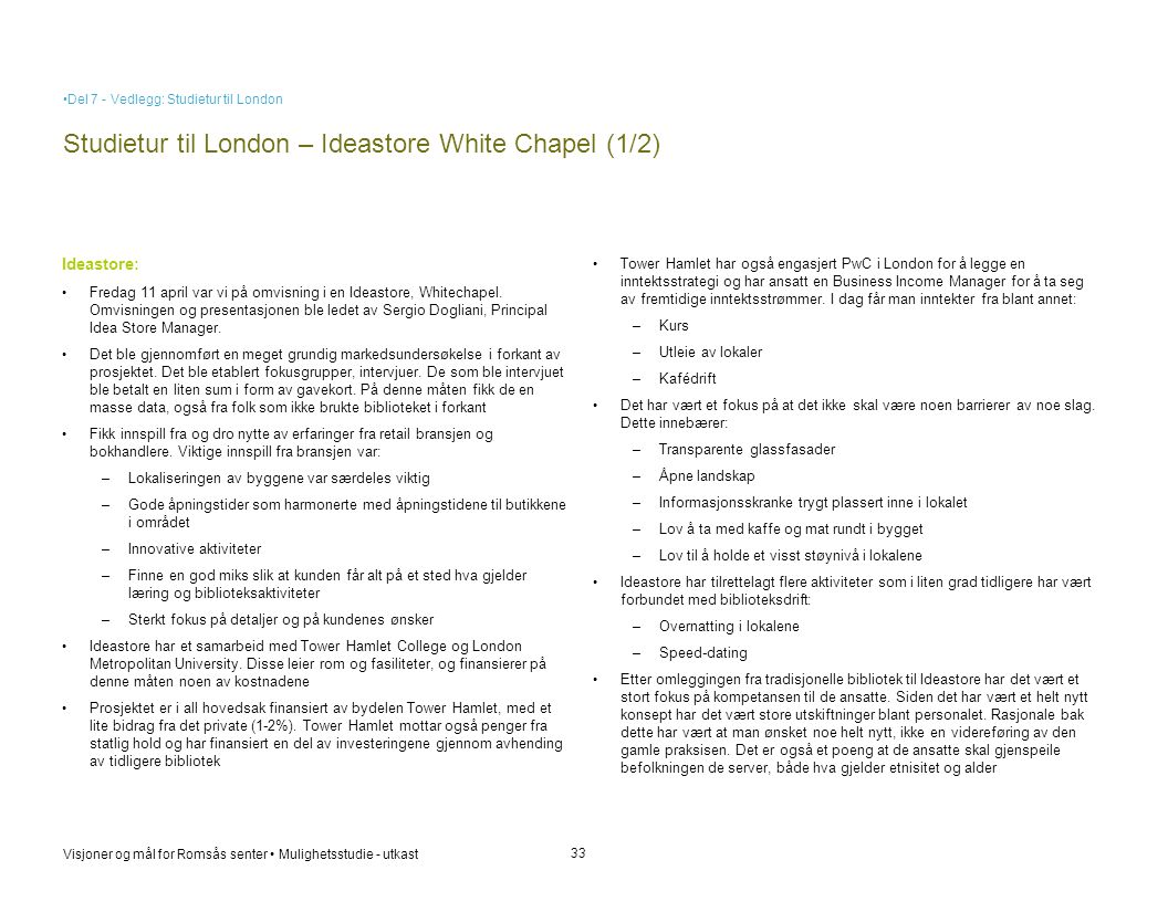 Studietur til London – Ideastore White Chapel (1/2)