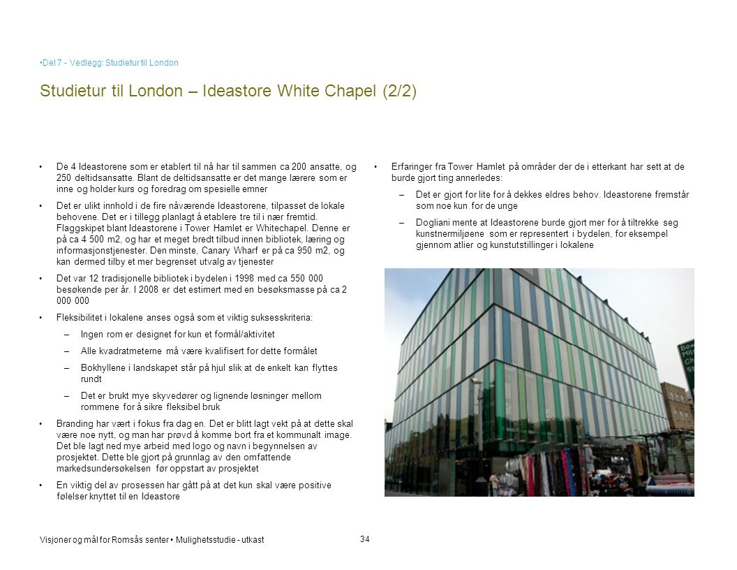 Studietur til London – Ideastore White Chapel (2/2)