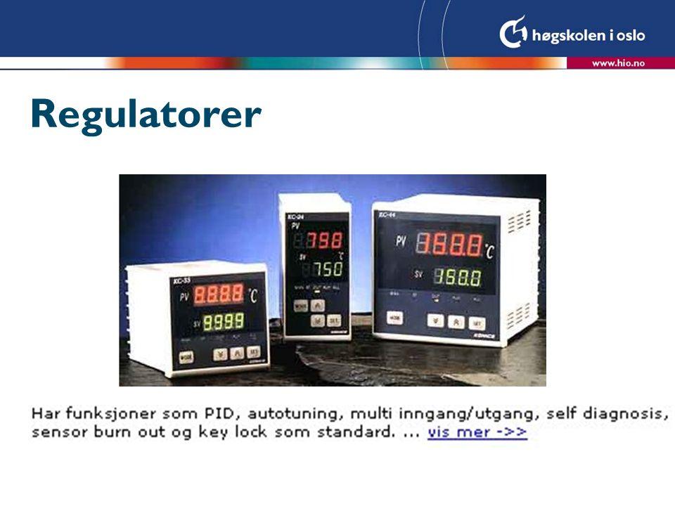 Regulatorer