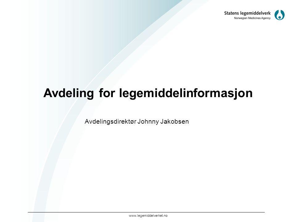 Avdeling for legemiddelinformasjon
