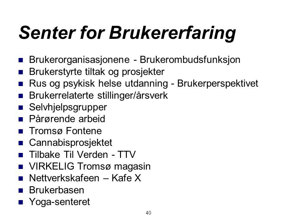 Senter for Brukererfaring