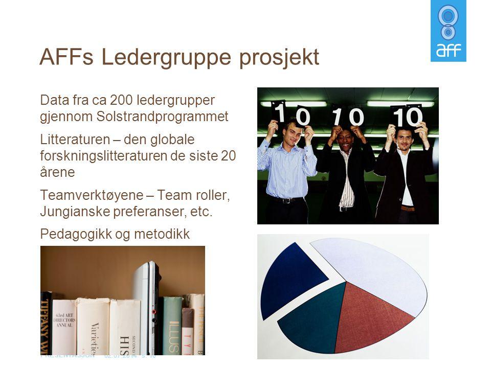 AFFs Ledergruppe prosjekt